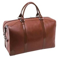 "Renfroe 20"" Travel Leather Duffel"