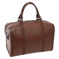 "Throop 18"" Travel Leather Duffel"