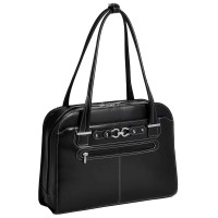 "Mayfair 15.4"" Leather Ladies' Laptop Briefcase"