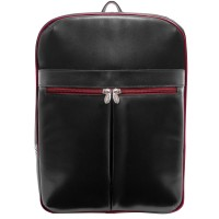 "Avalon 15.4"" Leather Laptop Slim Backpack"