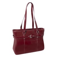 "Serra 15.6"" Leather Ladies' Laptop Briefcase"
