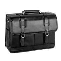 "Beverly 15.6"" Leather Laptop Case"