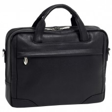 "Montclare 13.3"" Leather Netbook Laptop Brief"