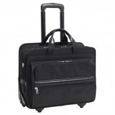 "Franklin 17"" Nylon Detachable-Wheeled Laptop Case"
