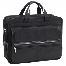 "Elston 15.6"" Nylon Double Compartment Laptop Case"