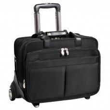 "Roosevelt 17"" Detachable-Wheeled Laptop Case w/ Removable Sleeve"