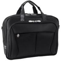 "Pearson 17"" Expandable Double Compartment Briefcase"