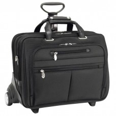 "Ohare 17"" Nylon Fly-Through™ Checkpoint-Friendly Detachable Wheeled Laptop Case"