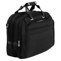 "Midway 17"" Nylon Fly-Through™ Checkpoint-Friendly Detachable Wheeled Laptop Case"