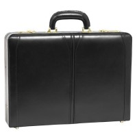"Lawson Leather 3.5"" Attache Briefcase"