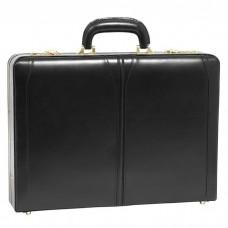 """Lawson Leather 3.5"""" Attache Briefcase"""