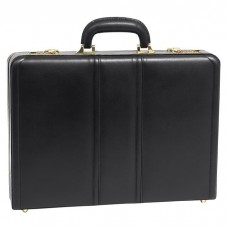"Coughlin Leather 4.5"" Expandable Attache Briefcase"