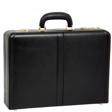 "Harper Leather 4.5"" Expandable Attache Briefcase"