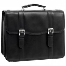 """Flournoy 15.6"""" Leather Double Compartment Laptop Case"""