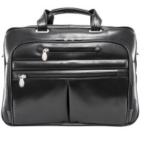 "Rockford 15.6"" Leather Fly-Through™ Checkpoint-Friendly Laptop Briefcase"