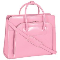 """Lake Forest 14.1"""" Leather Ladies' Laptop Briefcase Tote"""