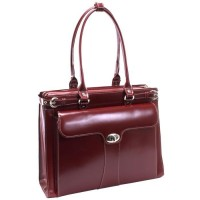 "Quincy 15.6"" Leather Ladies' Laptop Case"