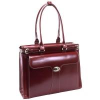 "Quincy 15.6"" Leather Ladies' Laptop Case"