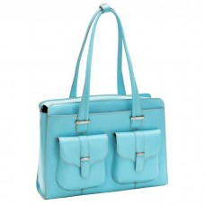 "Alexis 14"" Leather Ladies' Laptop Briefcase"