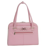 """Oak Grove 15.6"""" Leather Fly-Through™ Checkpoint-Friendly Ladies' Briefcase"""