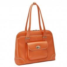 "Avon 15.4"" Leather Ladies' Laptop Briefcase"