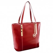 Cristina Leather Ladies Tote with Tablet Pocket