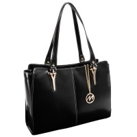Glenna Leather Shoulder Tote