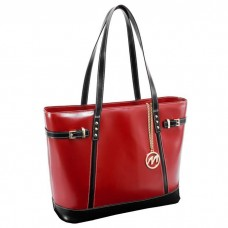 Serafina Leather Shoulder Tote