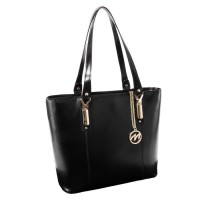 Savarna Leather Shoulder Tote